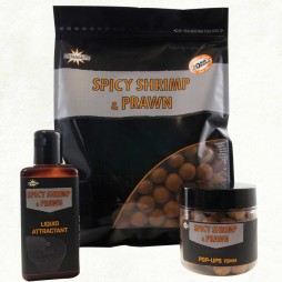 Dynamite Baits Spicy Shrimp & Prawn Boilies