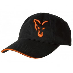 Шапка Fox Black & Orange Baseball Cap