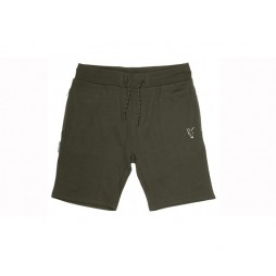 Къси панталони Fox Collection Green & Silver Lightweight Shorts