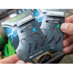Вързани Куки Korda KRANK Spinner Hook Sections